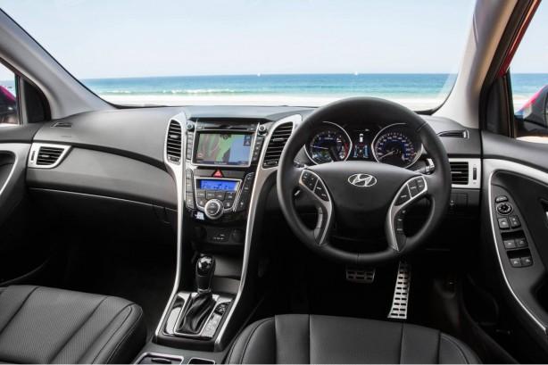 2015 Hyundai i30 dashboard