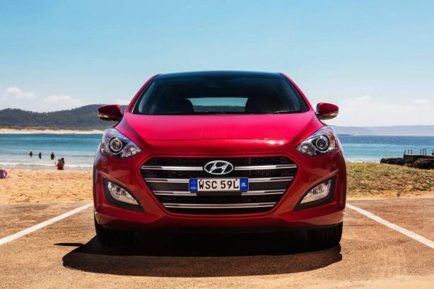 2015 Hyundai i30 front