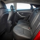 2015 Hyundai i30 rear seat legroom