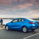 2015 Mazda2 sedan rear quarter