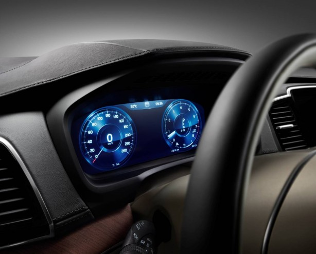 2015 Volvo XC90 instruments
