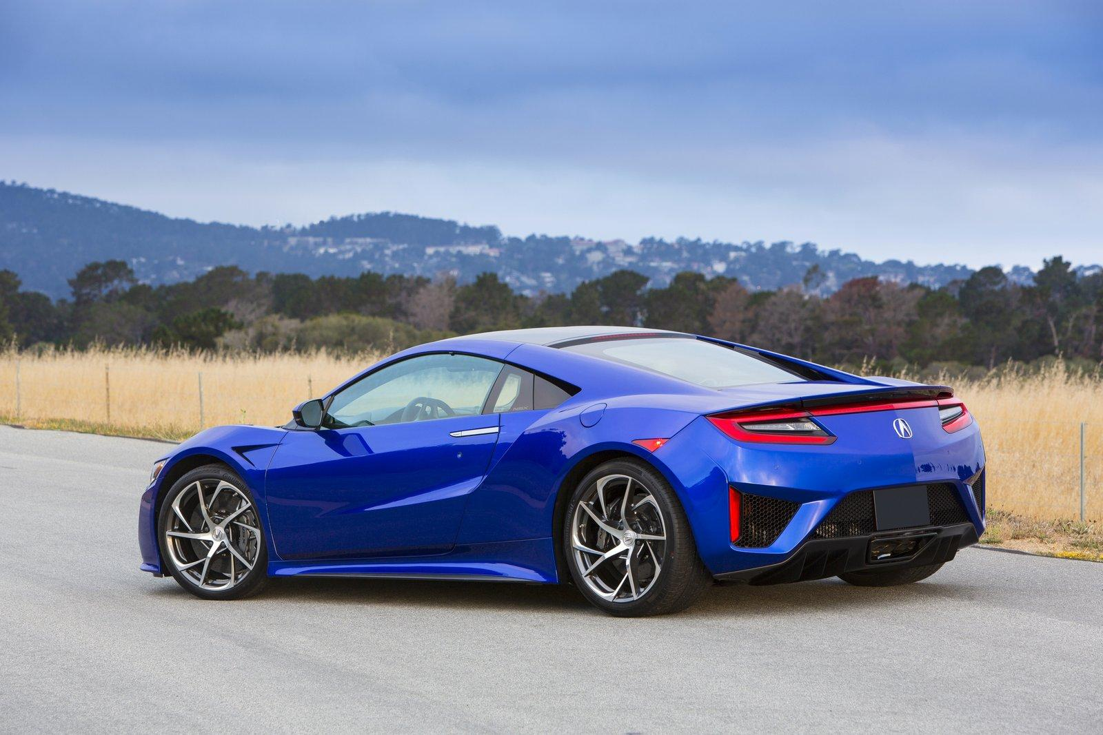 honda cars news 2016 nsx features and options detailed. Black Bedroom Furniture Sets. Home Design Ideas