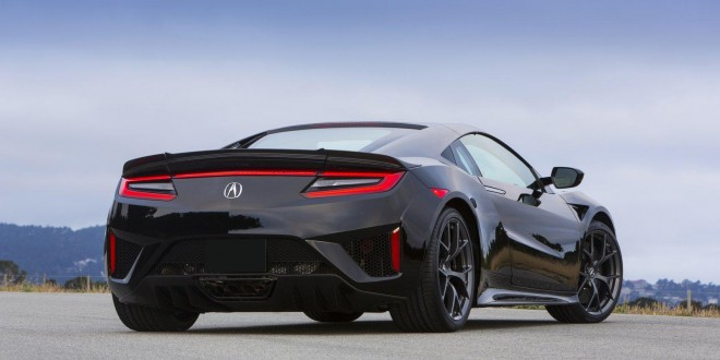 First Honda NSX rolls off production line