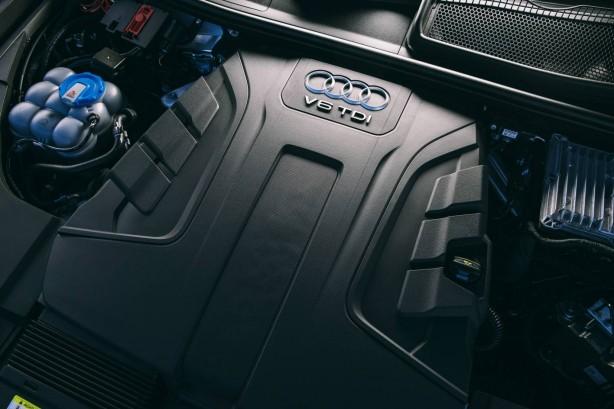 2016 Audi Q7 engine