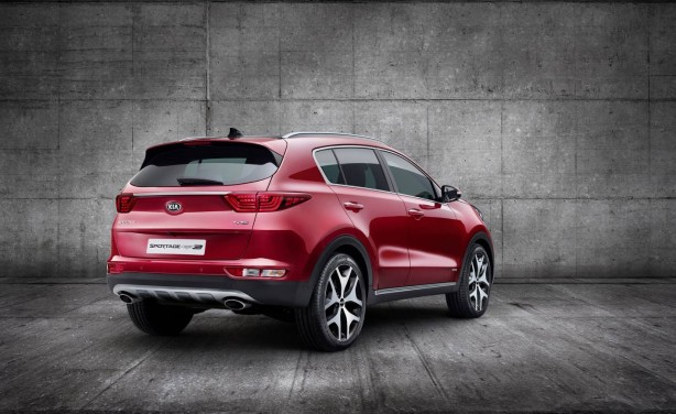 2016 Kia Sportage rear quarter