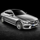2016 Mercedes C-Class Coupe front quarter-1