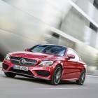 2016 Mercedes C-Class Coupe front quarter-2