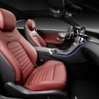 2016 Mercedes C-Class Coupe front seats