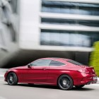 2016 Mercedes C-Class Coupe rear quarter-1