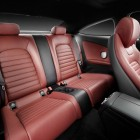 2016 Mercedes C-Class Coupe rear seats