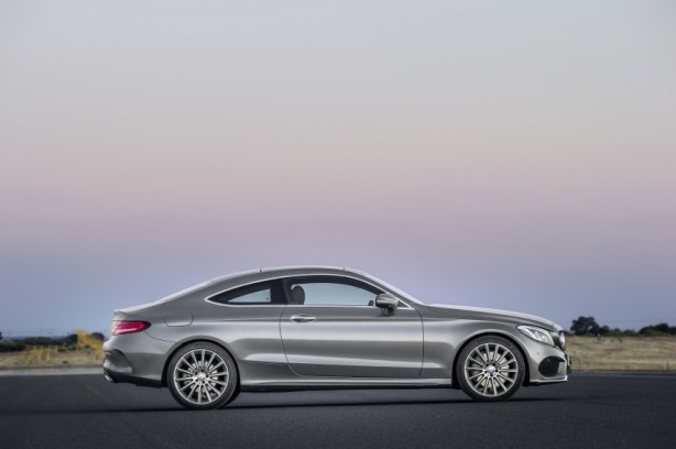 2016 Mercedes C-Class Coupe side