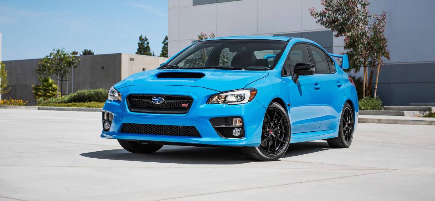Subaru Wrx Wrx Sti And Brz Hyper Blue Edition Coming