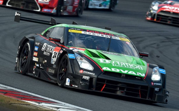 #24 D'station ADVAN Nissan GT-R Nismo GT500-1