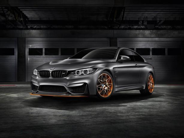 BMW Concept M4 GTS front quarter