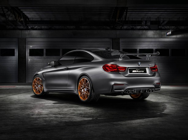 BMW Concept M4 GTS rear quarter