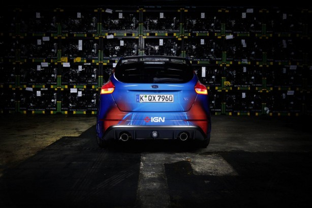 Forza Ford Focus RS rear