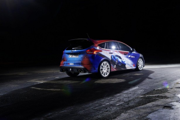 Forza Ford Focus RS rear quarter