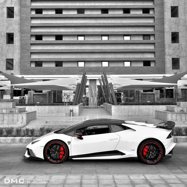Lamborghini Huracan with DMC Stage 3 kit side