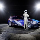 The Stig with Forza Ford Focus RS