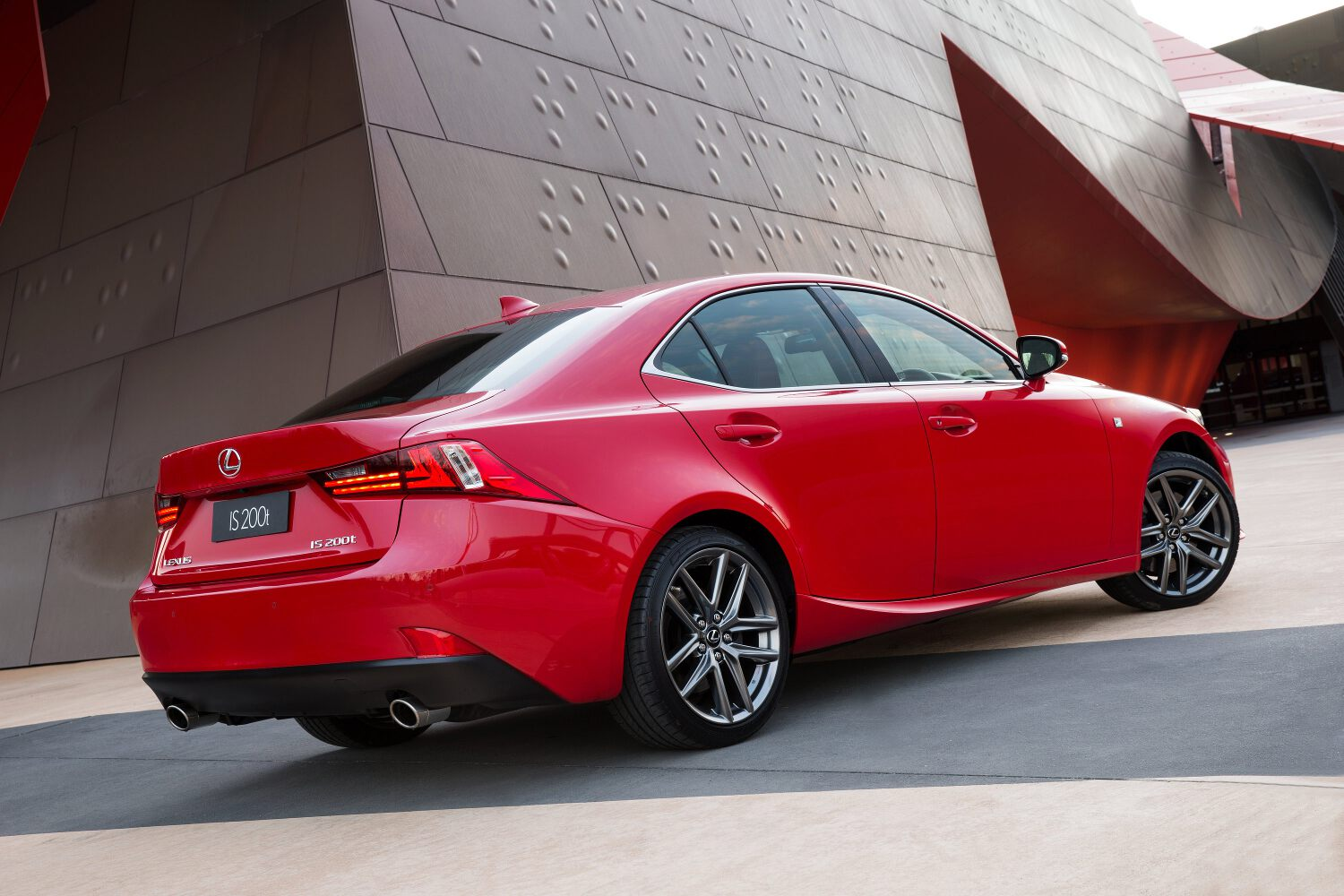 Turbo-powered Lexus IS 200t Arrives Down Under
