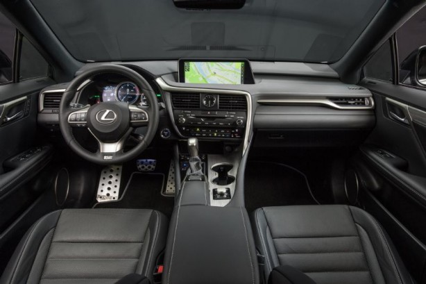 2016_Lexus_RX_450h_F_Sport_interior