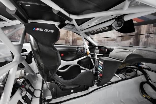 BMW M6 GT3 interior-1