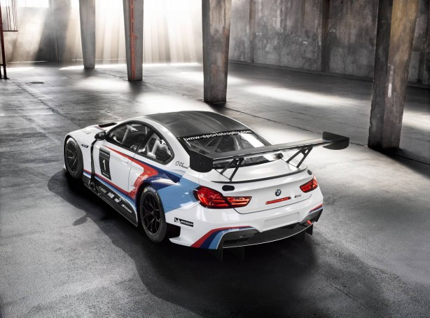 BMW M6 GT3 rear quarter