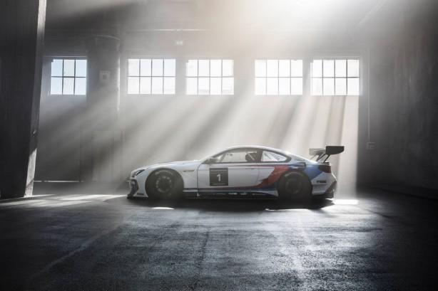 BMW M6 GT3 side