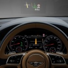 Bentley Bentayga instruments