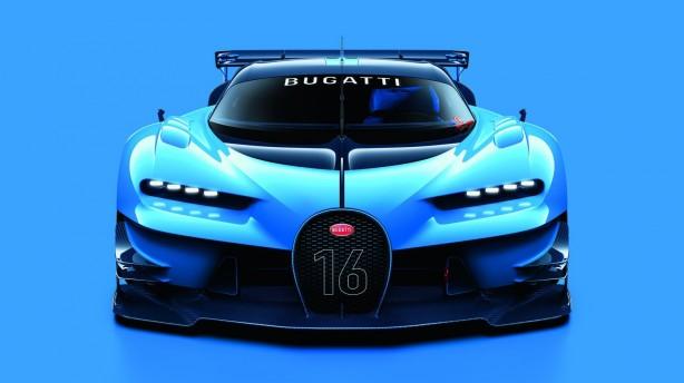 Bugatti Vision Gran Turismo front