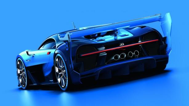 Bugatti Vision Gran Turismo rear
