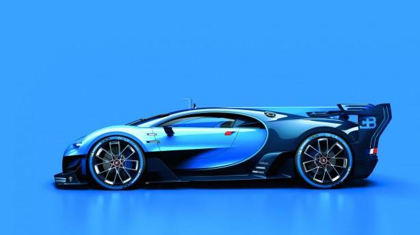Bugatti Vision Gran Turismo side