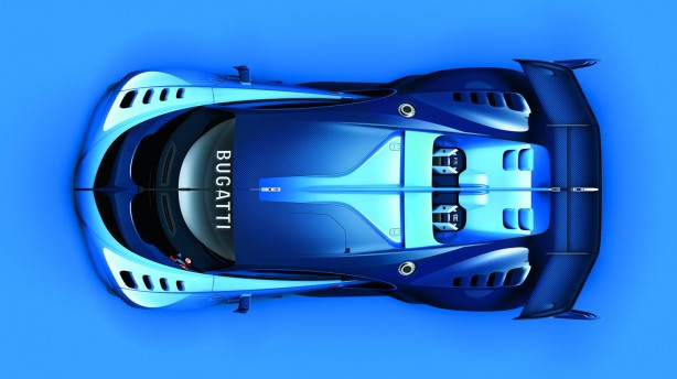 Bugatti Vision Gran Turismo top