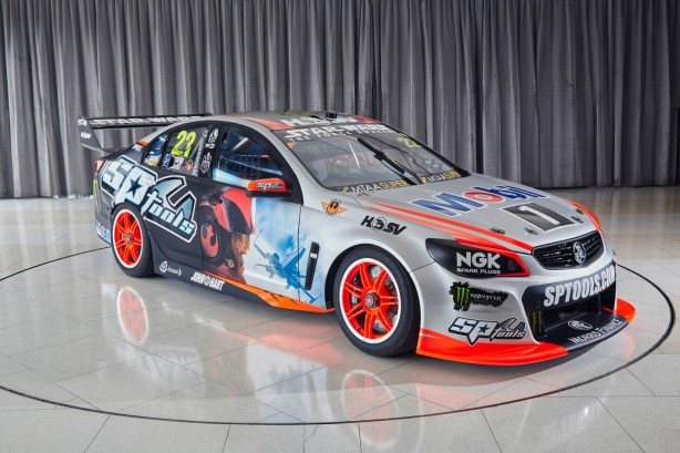 Holden Racing Team Star Wars livery