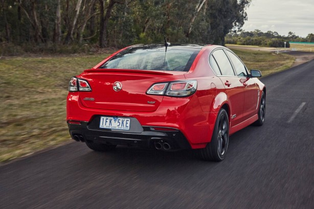 Holden VFII Commodore SSV rear quarter