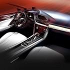Mazda Koeru interior sketch