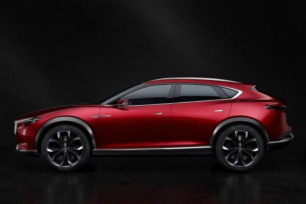 Mazda Koeru side
