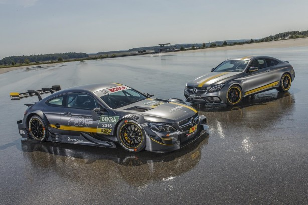 Mercedes-AMG C63 Coupe DTM and C63 S Coupe Edition 1
