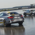 Mercedes-AMG C63 Coupe DTM and C63 S Coupe Edition 1 rear