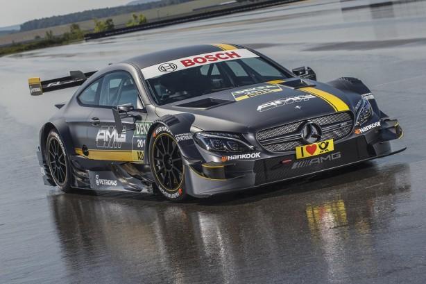 Mercedes-AMG C63 Coupe DTM front quarter