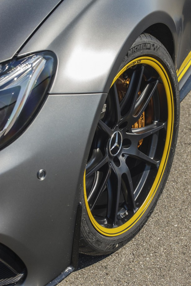 Mercedes-AMG C63 S Coupe Edition 1 wheel
