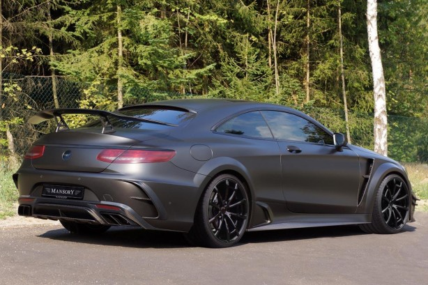 Mercedes-AMG S63 Coupe Black Edition by Mansory back