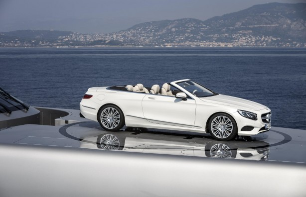 Mercedes-Benz S-Class Cabriolet side