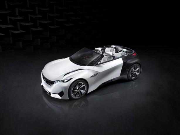 Peugeot Fractal concept front quarter