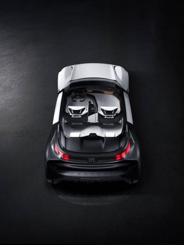 Peugeot Fractal concept rear