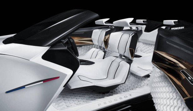 Peugeot Fractal concept seats