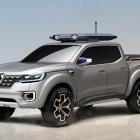 Renault Alaskan concept front quarter