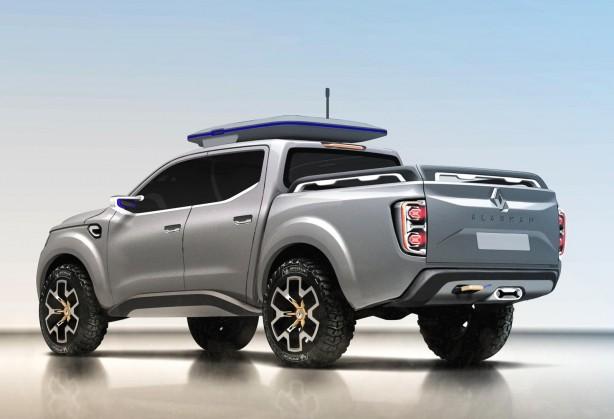 Renault Alaskan concept rear quarter