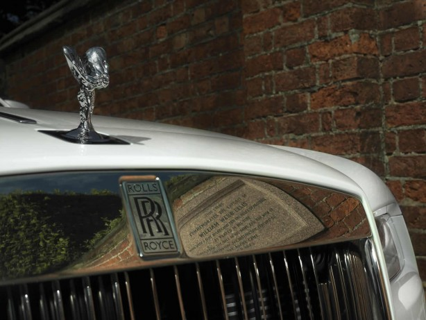 Rolls-Royce Wraith - History of Rugby Lady of Ecstasy
