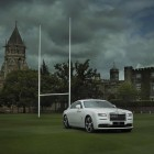 Rolls-Royce Wraith - History of Rugby front quarter
